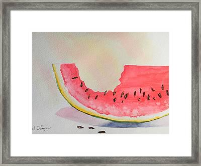 Summer Joy  Framed Print by Warren Thompson