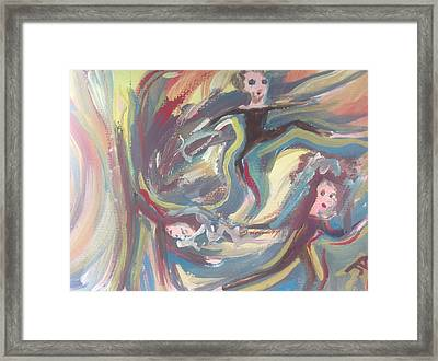 Summer Madness Framed Print by Judith Desrosiers