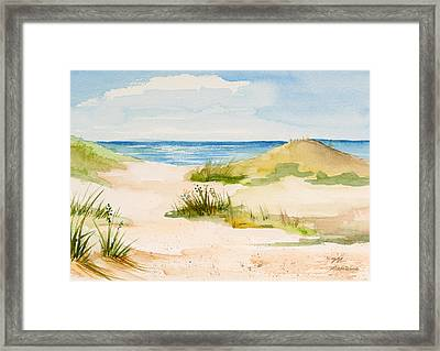 Summer On Cape Cod Framed Print by Michelle Wiarda