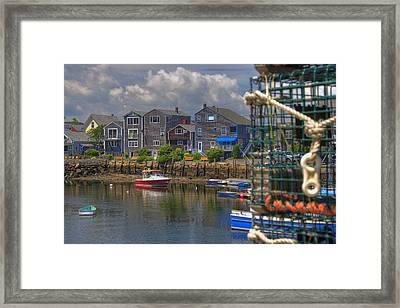 Summer On The Harbor Framed Print by Joann Vitali