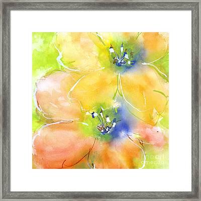 Summer Poppies 1 Framed Print by Chris Paschke