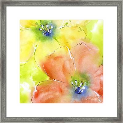 Summer Poppies 2 Framed Print by Chris Paschke