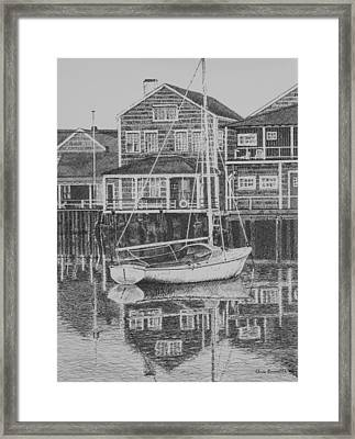 Summer Reflections Framed Print by Christine Brunette
