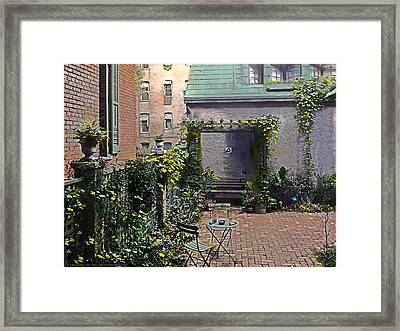 Summer Rest Framed Print by Terry Reynoldson