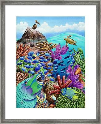 Summer School Framed Print by Carolyn Steele