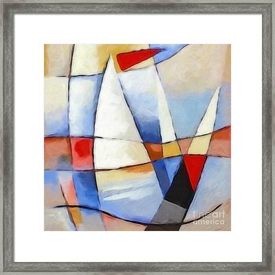 Summer Sea Framed Print by Lutz Baar