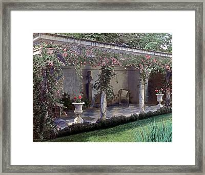 Summer Shade Framed Print by Terry Reynoldson