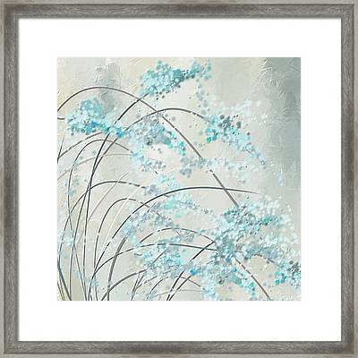 Summer Showers Framed Print by Lourry Legarde