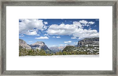 Summer Snow Framed Print by Jon Glaser
