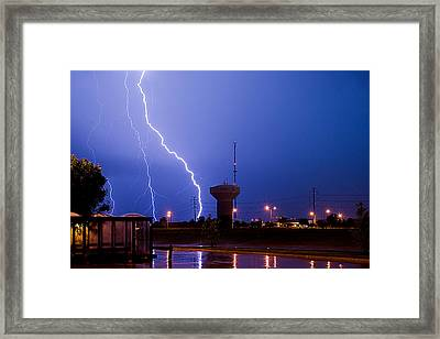 Summer Storm Framed Print by Jim Finch