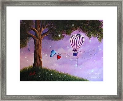 Summer Twilight Framed Print by Shawna Erback