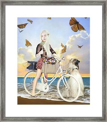 Summer Framed Print by Vic Lee