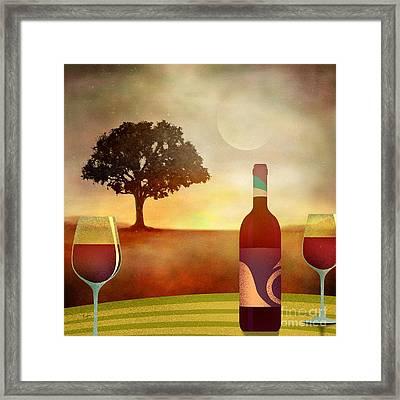 Summer Wine Framed Print by Bedros Awak