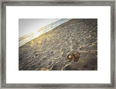Summer's End Framed Print by Ann Patterson