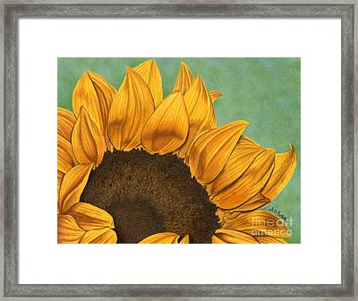 Summer's End Framed Print by Sarah Batalka