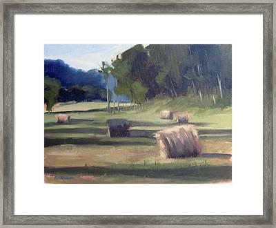 Summer's Shade Framed Print by Erin Rickelton
