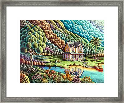 Summertime Framed Print by Andy Russell