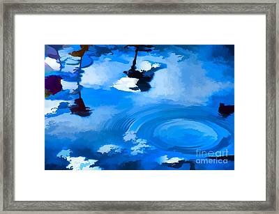Summertime Blue Framed Print by Robyn King