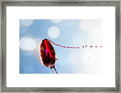 Summertime Framed Print by Clare Bevan