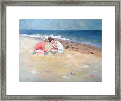 Summertime Framed Print by Dorothy Siclare