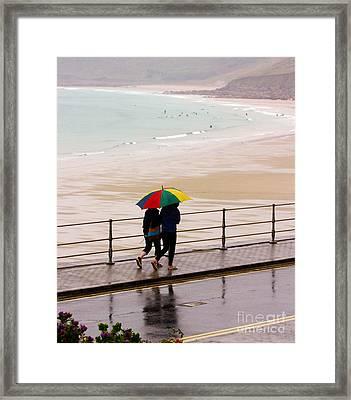 Summertime In England Framed Print by Terri Waters