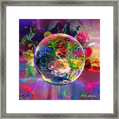 Summertime Passing Framed Print by Robin Moline