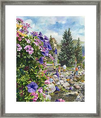 Summertime Saturday Framed Print by Anne Gifford