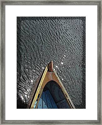 Summertime Serenity Framed Print by Tim Allen