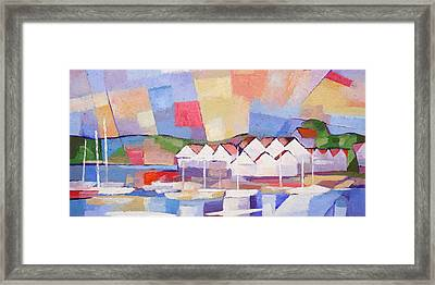 Summerview Panoramic Framed Print by Lutz Baar
