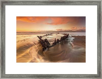 Sun Beam IIi Framed Print by Marek Biegalski