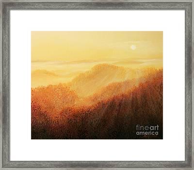 Sun Caress Framed Print by Kiril Stanchev