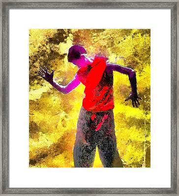 Sun Dance Framed Print by Gun Legler