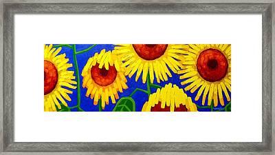 Sun Lovers Framed Print by John  Nolan