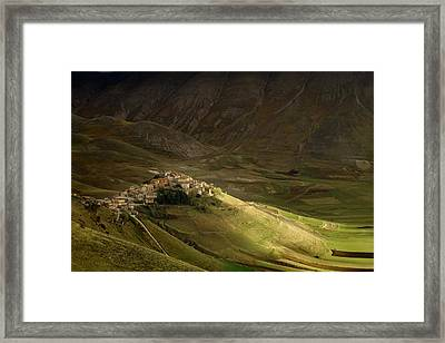 Sun Ray Framed Print by Peter Banny