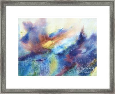 Sun Rising II Framed Print by Betty Pinkston