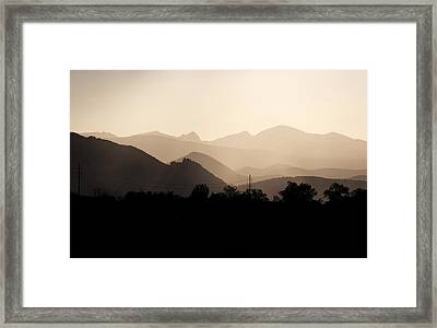 Sun Soaked Flatrions 2 Framed Print by Marilyn Hunt