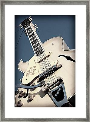 Sun Studio Gibson Bigsby Framed Print by Stephen Stookey