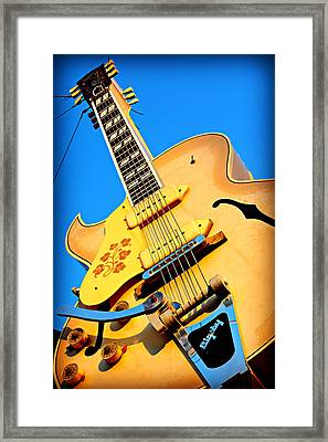 Sun Studio Guitar Framed Print by Stephen Stookey