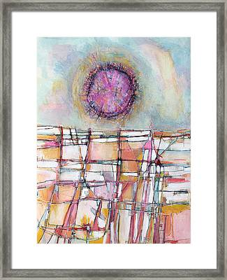 Sun And City Framed Print by Hari Thomas