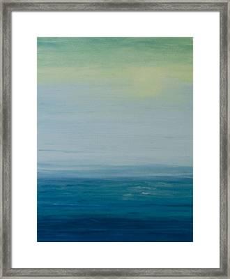 Sunbathed Framed Print by Jan Roelofs