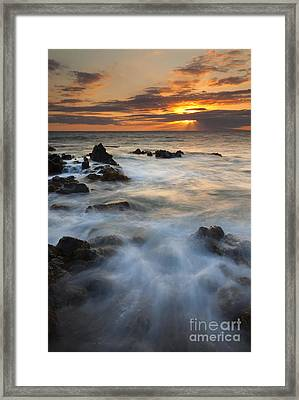 Sunbeams Over Lanai Framed Print by Mike Dawson