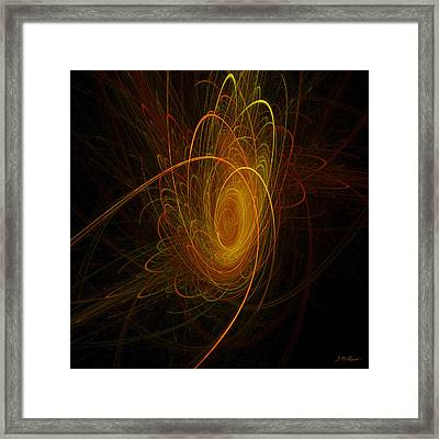 Sunburst Framed Print by Michael Durst