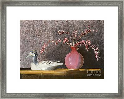 Sunday Afternoon Framed Print by Monte Toon