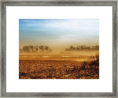 Sunday Afternoon Framed Print by Tom Druin