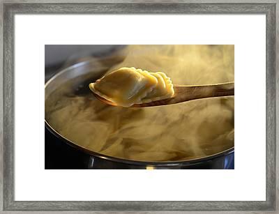 Sunday Dinner Framed Print by Laura Fasulo