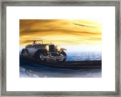 Sunday Drive Framed Print by Bob Orsillo