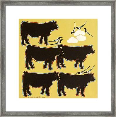 Sunday Stroll Framed Print by Susan Greenwood Lindsay