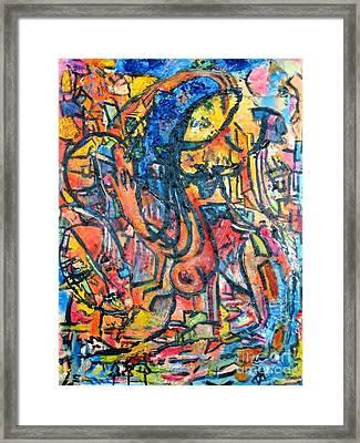 Sunder Framed Print by Chaline Ouellet
