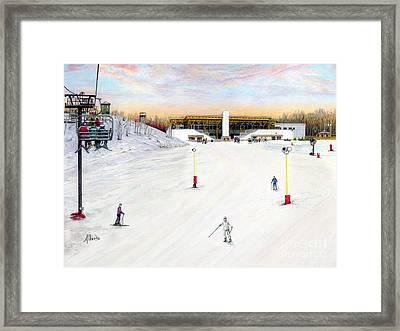 Sundial Lodge At Nemacolin Woodlands Resort Framed Print by Albert Puskaric