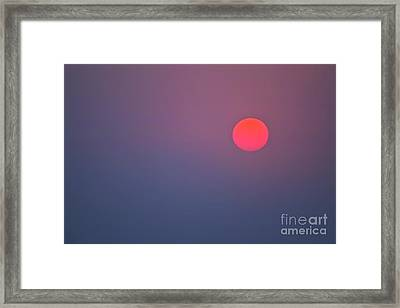 Sundown Framed Print by Heiko Koehrer-Wagner